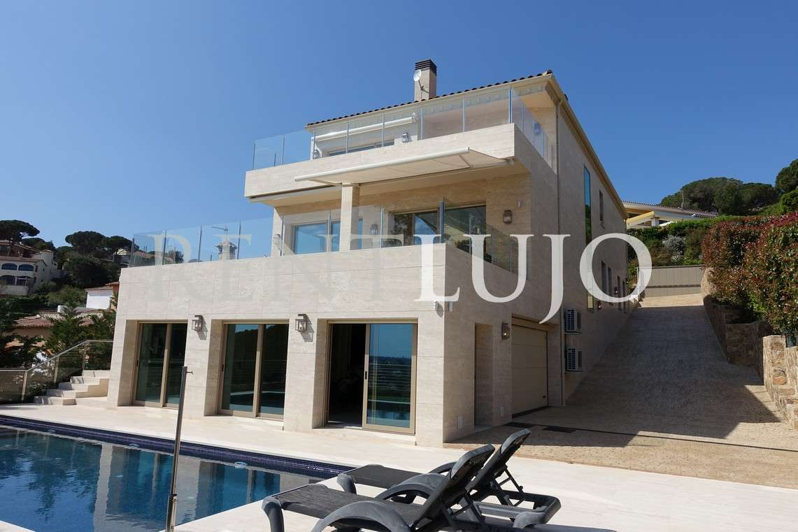 VILLA VIP CALONGE- Modern house with panoramic sea views-CALONGE-COSTA BRAVA