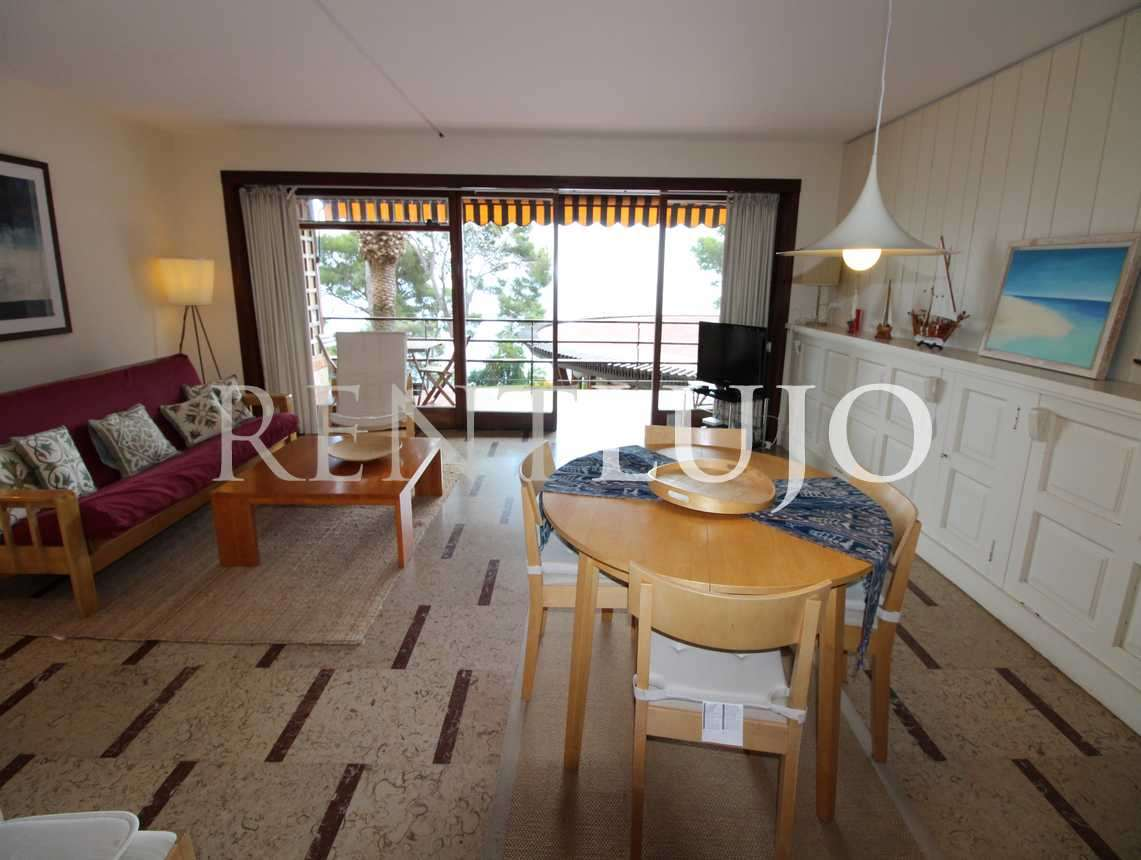 APT. EDEN MAR DAVANT-  Lovely seafront apartment  recently renovated -TORRE VALENTINA (Sant Antoni de Calonge)-COSTA BRAVA